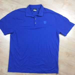 Ups Nike Golf Polo Shirt Size 2XL Blue